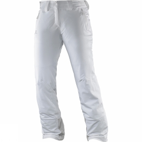 Salomon Salomon Womens Iceglory Pants White