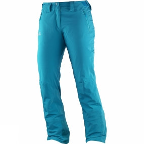 Salomon Salomon Womens Iceglory Pants Kouak Blue