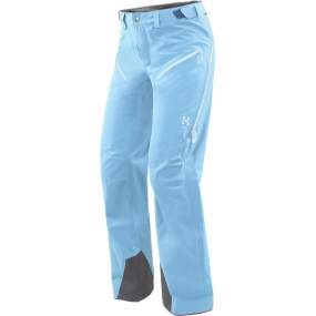 Haglofs Women's Khione Pants Blue Fox Haglofs Women's Khione Pants Blue Fox by Haglofs