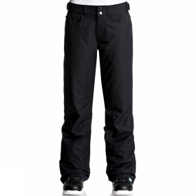 Roxy Roxy Womens Backyard Pants TRUE BLACK