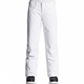 Roxy Roxy Womens Backyard Pants BRIGHT WHITE