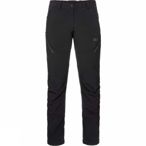 Jack Wolfskin Jack Wolfskin Womens Gravity Slope Pants Black