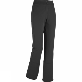 Eider A slender soft shell pant that will comfortably move with you, whether snow shoeing, winter hiking, or skiing, the Notting Hill Pant is great for warmer winter climates. Minimalist in design, the higher back with 3D mesh liner is soft on the skin and promotes air circulation, while the inside gators fit snugly over boots to keep the snow out.