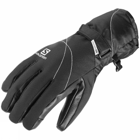 Salomon Salomon Womens Propeller Plain Dry Glove Black