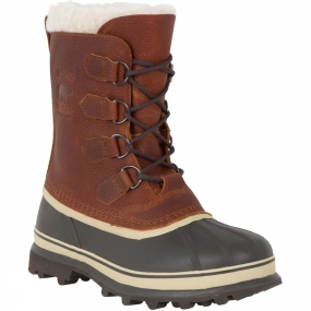 Sorel Sorel Mens Caribou Wool Boot Tobacco