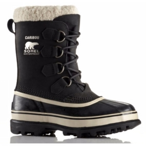 Sorel Sorel Womens Caribou Boot Black/Stone