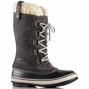 Sorel Sorel Womens Joan Of Arctic Shearling Boot Dark Grey / Black