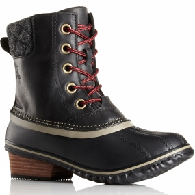 Sorel Sorel Womens Slimpack II Lace Duck Boot Black / Kettle