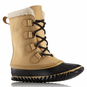Sorel Sorel Womens Caribou Slim Curry / Black