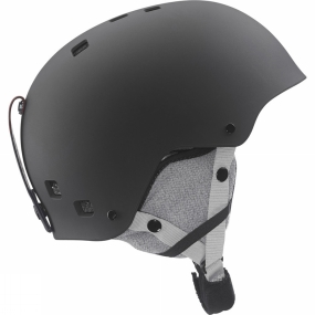 Salomon Salomon Boys Jib Junior Helmet Black Matte