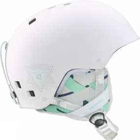 Salomon Womens Venom Helmet White Matte