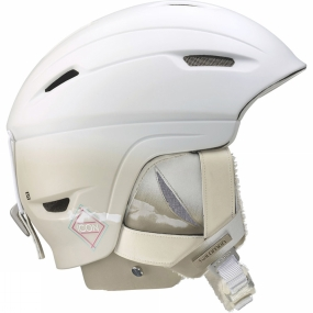 Salomon Salomon Womens Icon 4D Custom Air Helmet White Matte