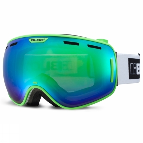 Bloc Bloc Equaliser Goggle Matt Green/Brown Revo Green Mirror+