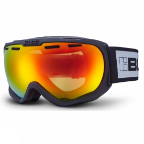 Bloc Bloc BOA Goggle Matt Black/Brown Revo red Mirror
