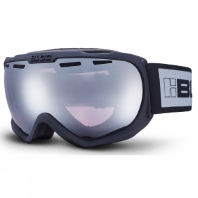 Bloc Bloc BOA Goggle Matt Black/Light Purple Mirror Silver