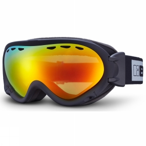 Bloc Bloc Spirit 3 OTG Goggle Matt Black/Brown Revo Red Mirror