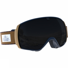 Salomon XT One Goggles Navy/Camel