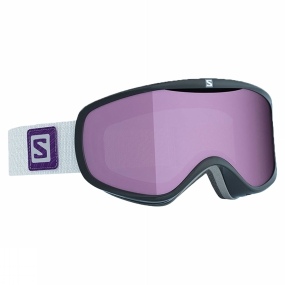 Salomon Womens Sense Goggles Black/Ruby Multilayer