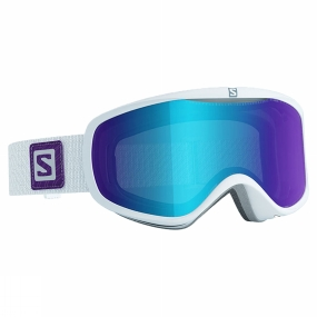Salomon Womens Sense Goggles White/Mid Blue Multilayer