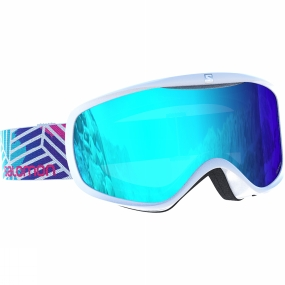 Salomon Womens Sense Goggles White Lotus