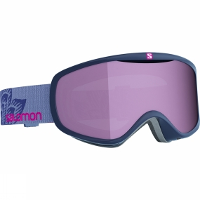 Salomon Womens Sense Goggles Navy Art