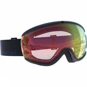 Salomon Womens Ivy Goggles Black/Red Photochromatic