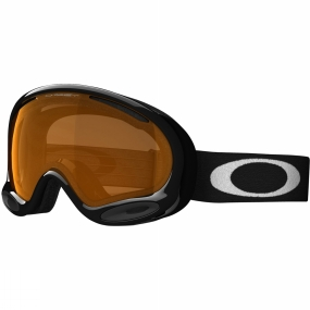 Oakley A Frame 2.0 Goggle JET BLACK/PERSIMMON