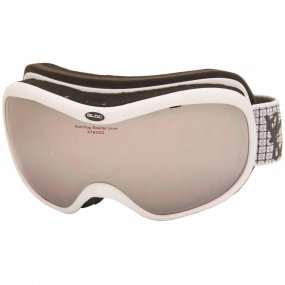 Bloc Bloc Drift Goggle White/Vermillion