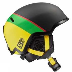 Salomon Hacker Helmet Black/Green