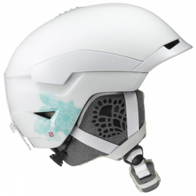 Salomon Womens Quest Access Ski Helmet White