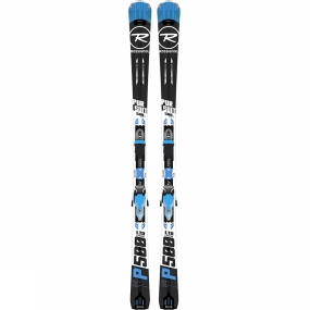 Rossignol Pursuit 500 Skis With Bindings BLACKBLUE review