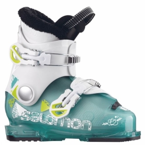 Salomon Salomon T2 RT GIRLY Junior Ski Boot Girly Green Tra/Wh/Acid