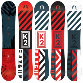 Product image of K2 Men's Raygun Wide Snowboard No Colour