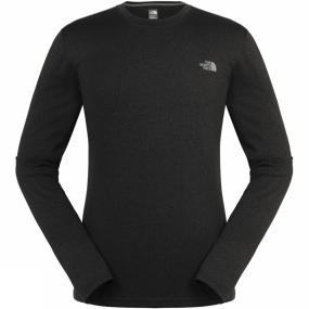 The North Face The North Face Men's Reaxion Amp Long Sleeve Crew TNF Dark Grey Heather