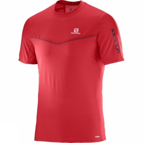 Salomon Salomon Mens Fast Wing Short Sleeve Tee Matador