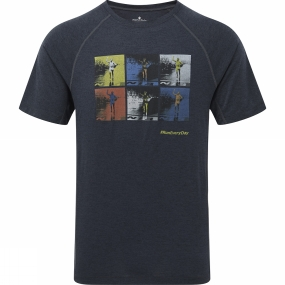 Ronhill Mens Stride Graphic Short Sleeve Tee