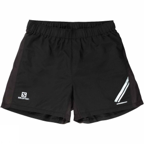 Salomon Salomon Mens Agile Shorts Black