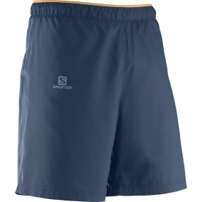Salomon Salomon Mens Pulse Shorts Dress Blue