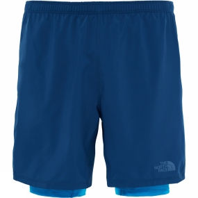 The North Face The North Face Mens NSR Dual Short Shady Blue/Hyper Blue