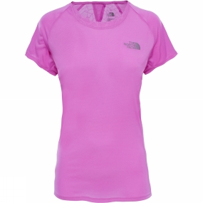 The North Face Womens Better Than Naked Short Sleeve Shirt Sweet Violet