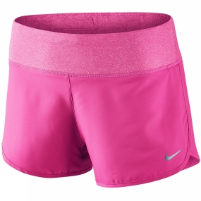 Nike Womens Rival Short HYPER PINK/REFLECTIVE SILV