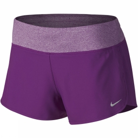 Nike Womens Rival Short COSMIC PURPLE/REFLECTIVE SILV