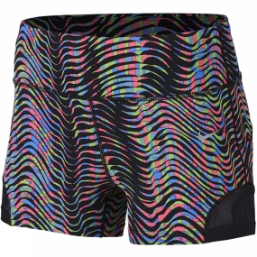 Nike Nike Womens 3in Sidewinder Epic Lux Short MULTI-COLOR/REFLECTIVE SILVER
