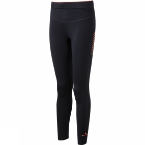 Ronhill Ronhill Womens Stride Stretch Tights Black/Neon Candy