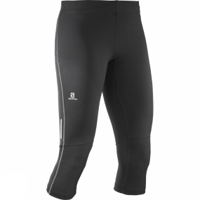 Salomon Salomon Womens Agile 3/4 Tights Black