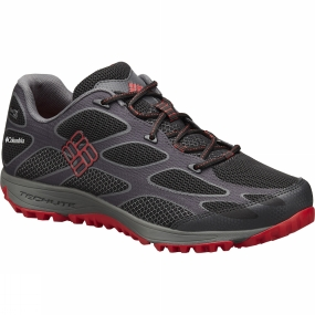 Columbia Columbia Mens Conspiracy IV Outdry Hiking Shoe Black / Bright Red