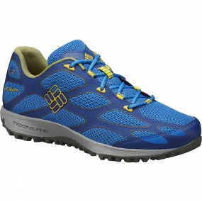 Columbia Columbia Mens Conspiracy IV Outdry Hiking Shoe Super Blue / Antique Moss