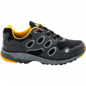 Jack Wolfskin Jack Wolfskin Mens Venture Fly Texapore Low Shoe Burly Yellow Xt