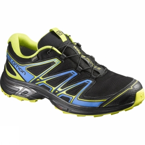 Salomon Salomon Mens Wings Flyte 2 GTX Shoe Black / Bright Blue