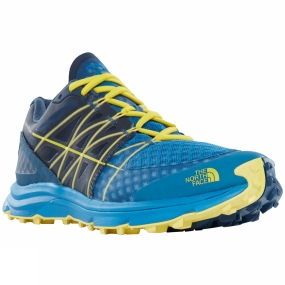 The North Face The North Face Men's Ultra Vertical Seaport Blue/Acid Yellow